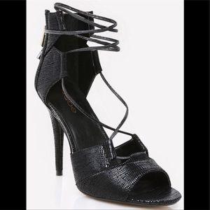 Lace Up Sandal Heels